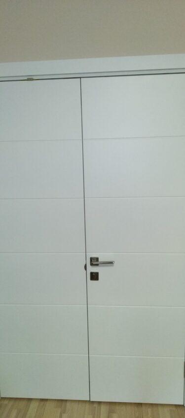 Двери МДФ крашенные
