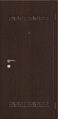 Входная дверь в квартиру эконом. Модель 01