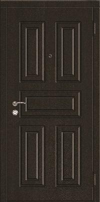 Входная дверь в квартиру эконом. Модель 02