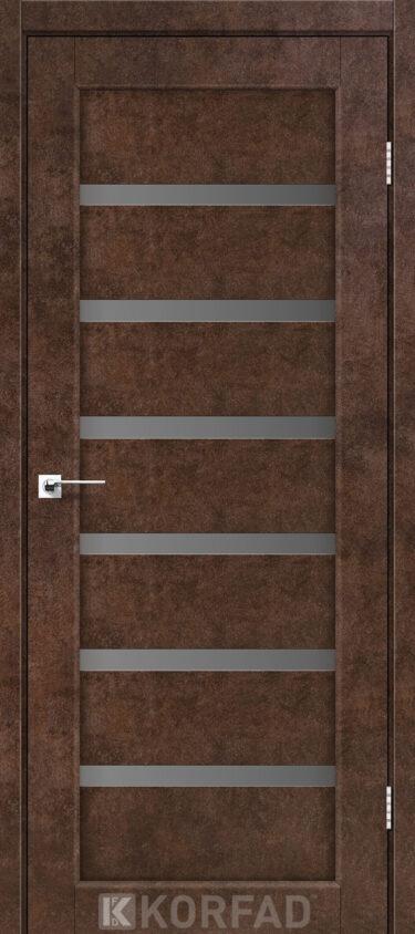 Двери в покрытии экошпон Korfad PD 01