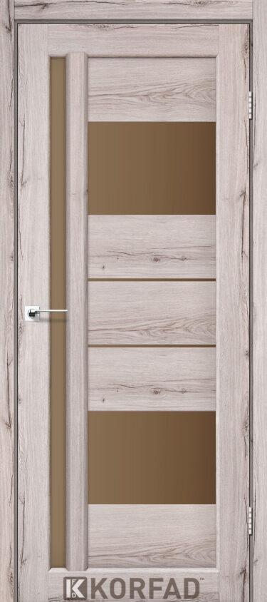 Двери в покрытии экошпон Korfad VND 03